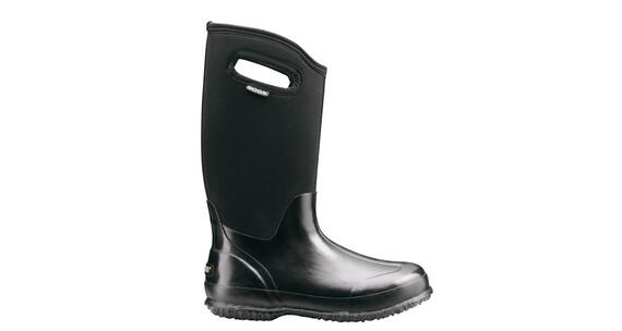 Bogs Classic High Rain Boots Women black shiny